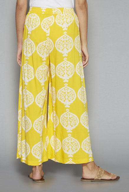 Utsa by Westside Yellow Palazzos