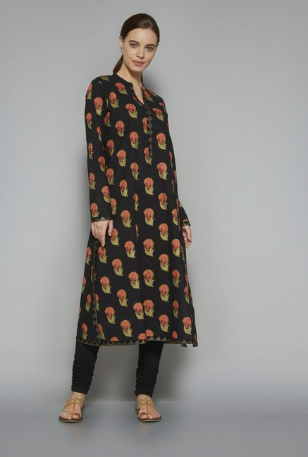 Utsa by Westside Black Kurta