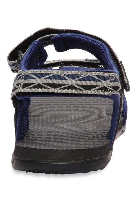 29fcf937605d54 Buy Puma Nova Quarry   Blue Depth Floater Sandals for Men at Best ...