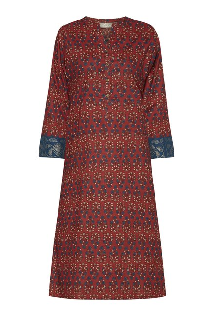Utsa by Westside Red Kurta
