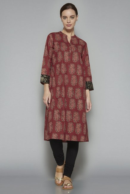 Utsa by Westside Brown Kurta
