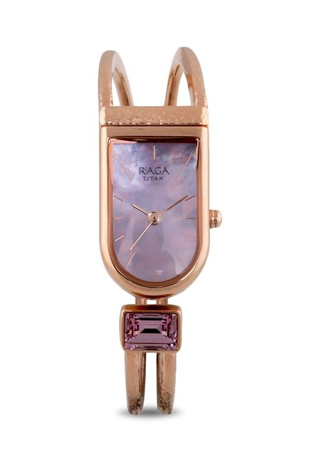 Titan 95063WM02F Raga Espana Magia Analog Watch for Women