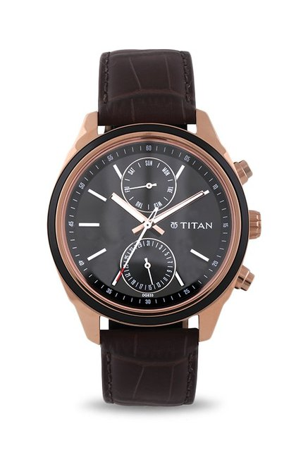 Titan Neo 1733KL03 Analog Blue Dial Men's Watch (1733KL03)