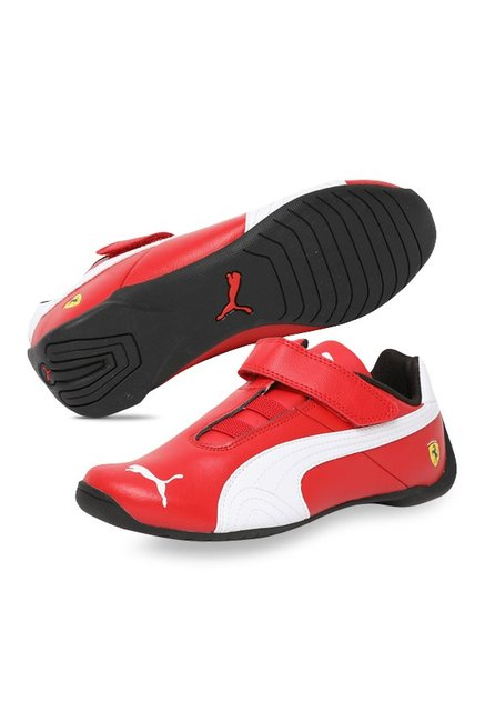 5694534753e1cd Buy Puma Ferrari SF Future Cat V PS Rosso Corsa Velcro Shoes for ...