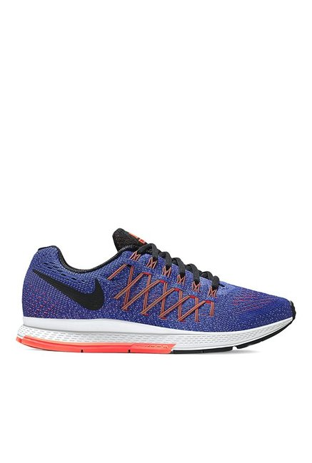 218f52e8104e1 Buy Nike Air Zoom Pegasus 32 Blue   Orange Running Shoes for Women at Best  Price   Tata CLiQ