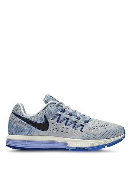 e621b41c9a5a Buy Nike Air Zoom Vomero 10 Grey   Blue Running Shoes for Women at Best  Price   Tata CLiQ