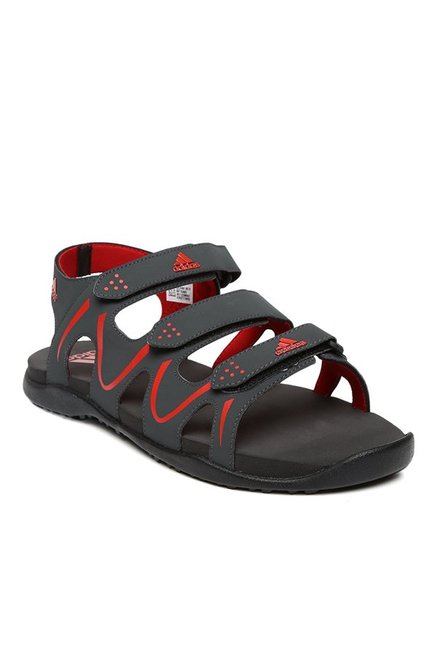 2c74a8914 Buy Adidas DGSOGR Scarle Black   Red Floater Sandals for Men at Best Price    Tata CLiQ