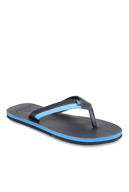 9aa27c8190c8 Buy Adidas Brizo 3.0 Black   Blue Flip Flops for Men at Best Price   Tata  CLiQ