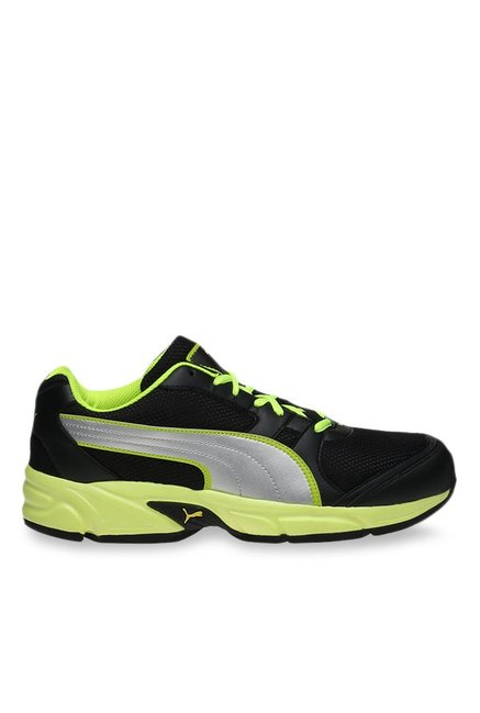 Buy Puma Strike Fashion II DP Black   Silver Running Shoes for Men at Best  Price   Tata CLiQ e3857af83