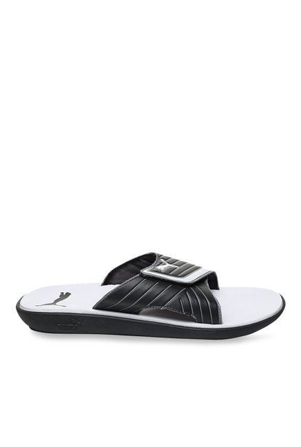 Buy Puma Bow Cat IDP Black & White Casual Sandals for Men at Best Price @ Tata CLiQ