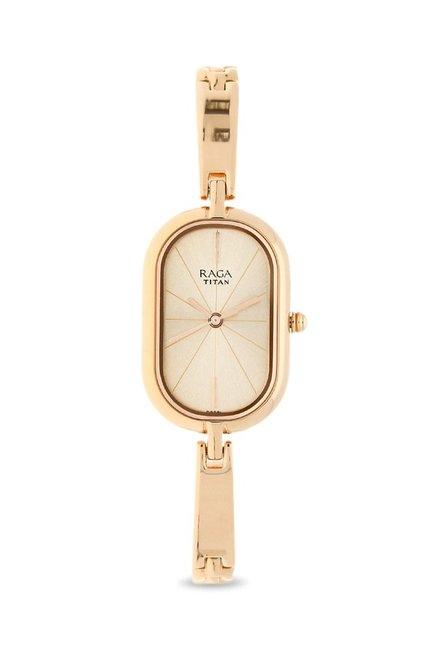 43155e12f3f Buy Titan 2577WM01 Raga Viva Analog Watch for Women at Best ...