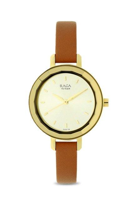e7b07cf3cd1 Buy Titan 2575YL01 Raga Viva Analog Watch for Women at Best Price   Tata  CLiQ