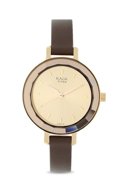 Titan 2575WL01 Raga Viva Analog Watch for Women