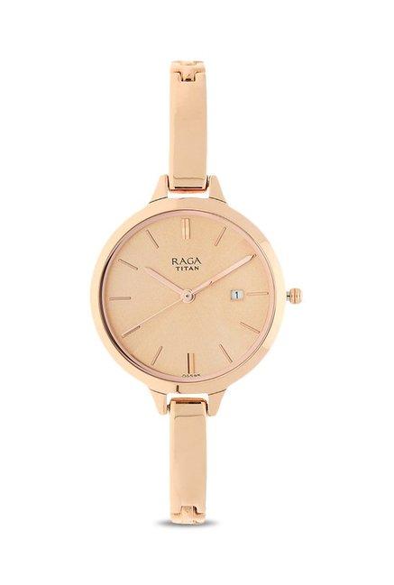 1b56282406b Buy Titan 2578WM01 Raga Viva Analog Watch for Women at Best ...