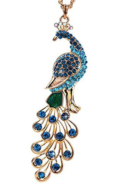 Buy youbella blue alloy gracias designer pendant for women at best youbella blue alloy gracias designer pendant aloadofball Image collections