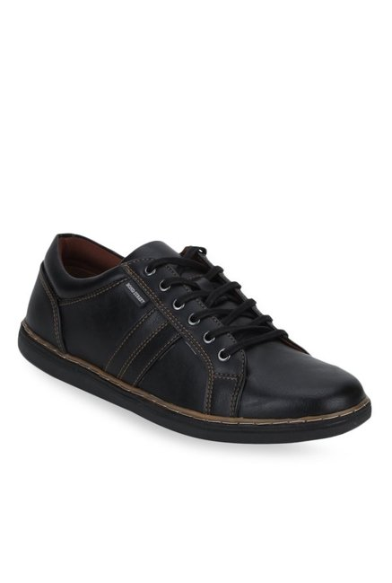 18826d3f74f02b Buy Bond Street by Red Tape Black Casual Sneakers for Men at Best ...