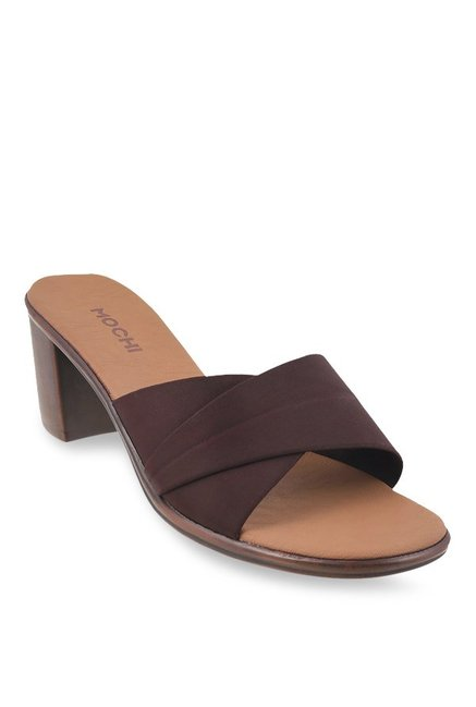 7647ddfe65525f Buy Mochi Chocolate Brown Formal Sandals for Women at Best Price @ Tata CLiQ