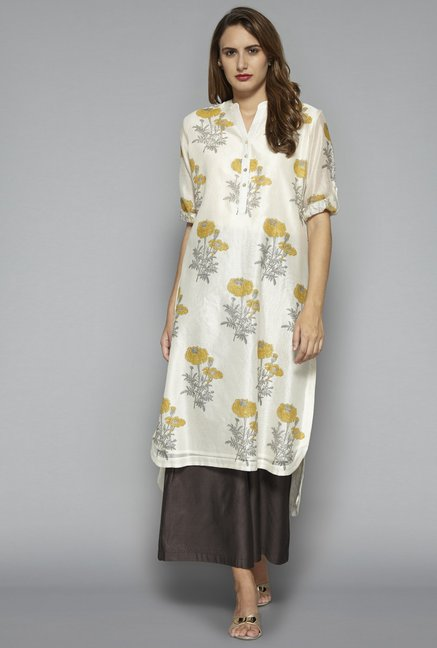 Zuba by Westside Yellow Kurta