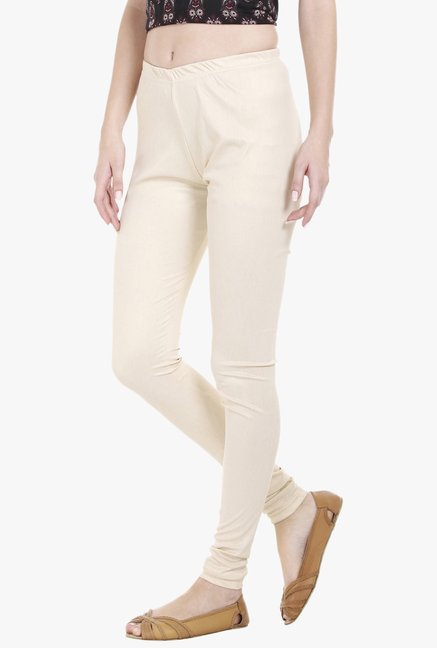Globus Cream Slim Fit Churidar