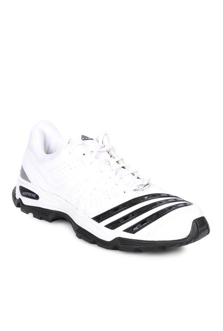Buy Adidas Adiprene 22YDS White   Black Cricket Shoes for Men at ... 84ec43f9a