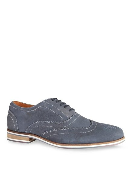 Allen Solly Blue Oxford Shoes