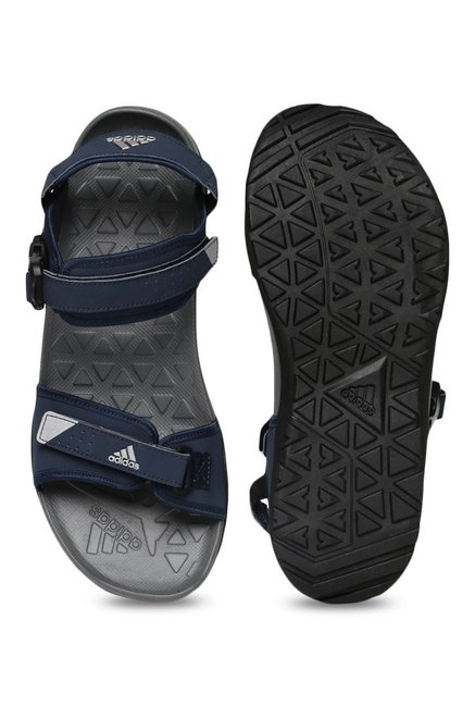 861192a2c9b Buy Adidas Hoist Navy Floater Sandals for Men at Best Price   Tata CLiQ