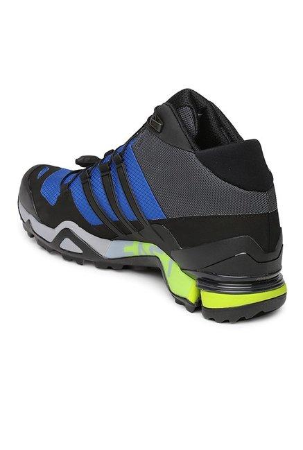 42af9b4d61f Buy Adidas Terrex Fast R Mid GTX Black   Blue Outdoor Shoes for Men ...