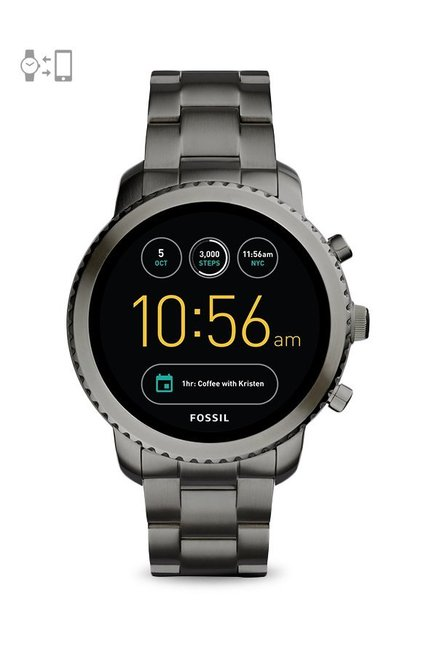 Fossil FTW4001 Q Explorist Gen-3 Smartwatch for Men