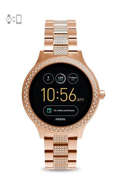 fd39622f25ac Buy Fossil FTW6008 Q Venture Gen-3 Smartwatch for Women at Best ...