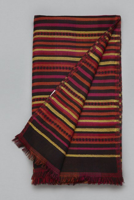 Utsa by Westside Multicolor Pure Wool Shawl