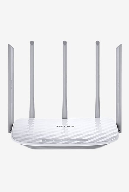 TP LINK Archer C60 AC1350 Wireless Dual Band Router  White