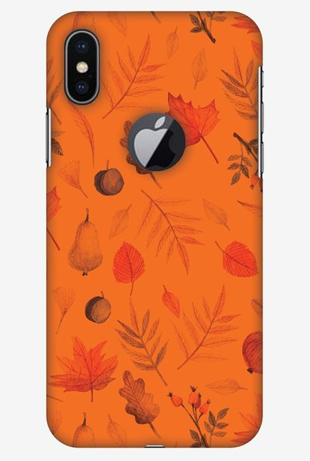 brand new 54094 ca5a4 Buy Amzer With Logo Cut Colours of Autumn Case for iPhone X Online ...