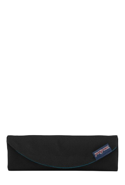 JanSport Digital Burrito Black Solid Polyester Pouch