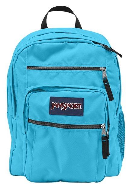 JanSport Big Student Mammoth Aqua Blue Backpack