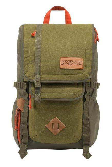 JanSport Hatchet Spec Ed Olive Green Laptop Backpack