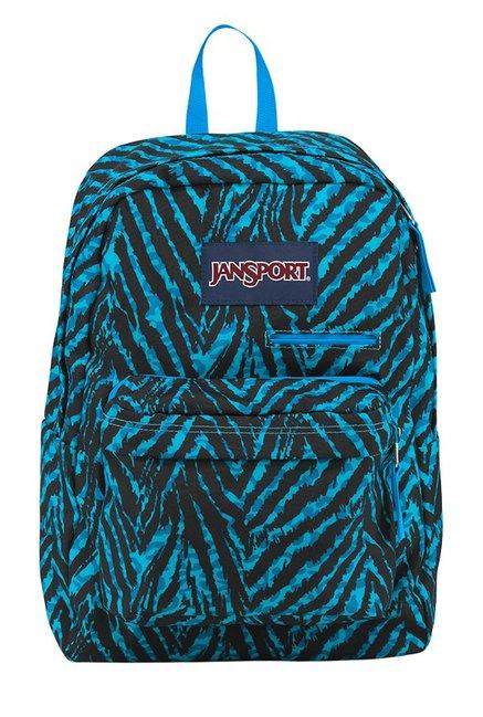 JanSport Digibreak Wild At Heart Aqua Blue Laptop Backpack