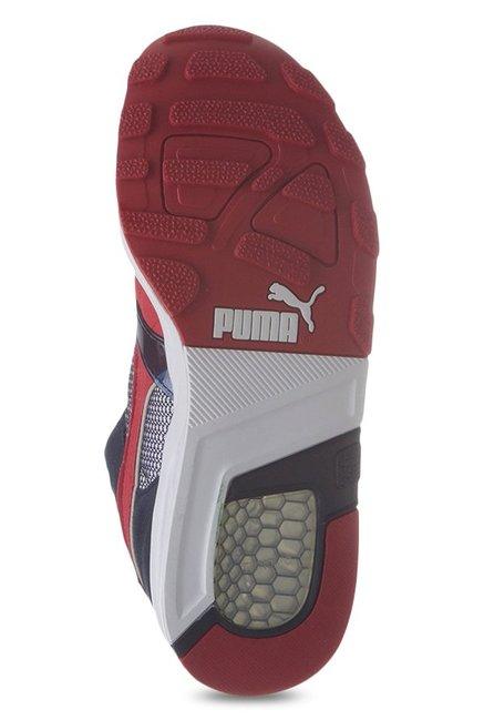 9fabd570b0e888 Buy Puma Trinomic XT 1 Plus Peacoat   Red Running Shoes for Men at ...