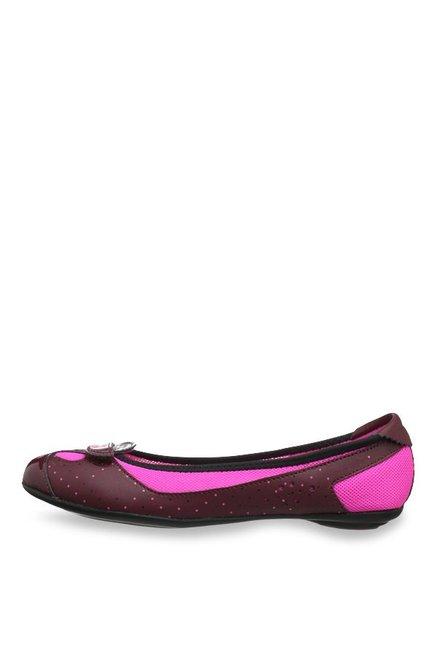 ececd1f327 Buy Puma Zandy Cabernet Flat Ballets for Women at Best Price @ Tata CLiQ