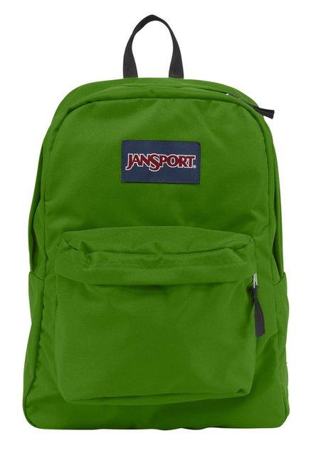 Buy JanSport Superbreak Hedge Green Polyester Backpack