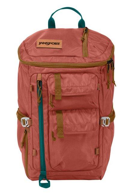 JanSport Watchtower Ballistic Burnt Sienna Laptop Backpack