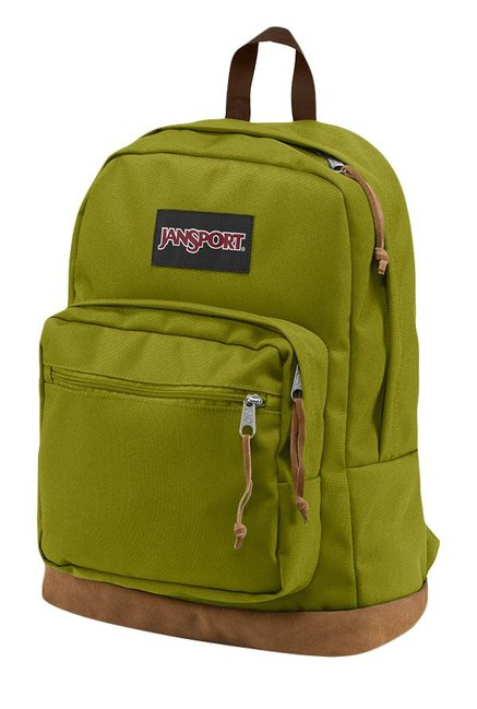 56623863d8 Buy JanSport Right Pack Forest Green   Brown Laptop Backpack For ...