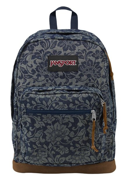 JanSport Right Pack Expressions Jacquard Navy Backpack
