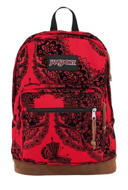 1d5e0161e Buy JanSport Right Pack Expressions Red & Black Laptop Backpack ...