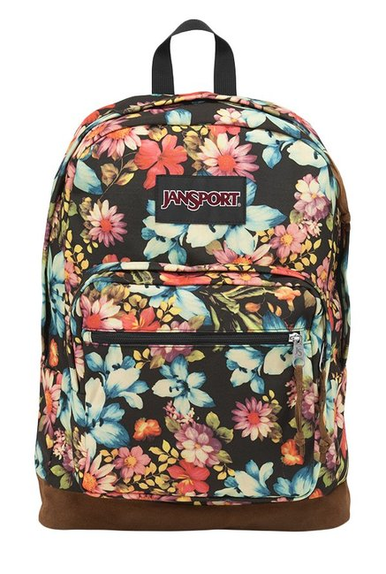 JanSport Right Pack Expressions Black & Blue Laptop Backpack