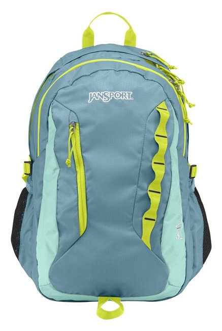 JanSport W Agave Bayside Greyish Blue Laptop Backpack