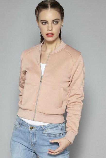 5f2740b89134d Buy Nuon by Westside Blush Pink Jacket for Women Online   Tata CLiQ