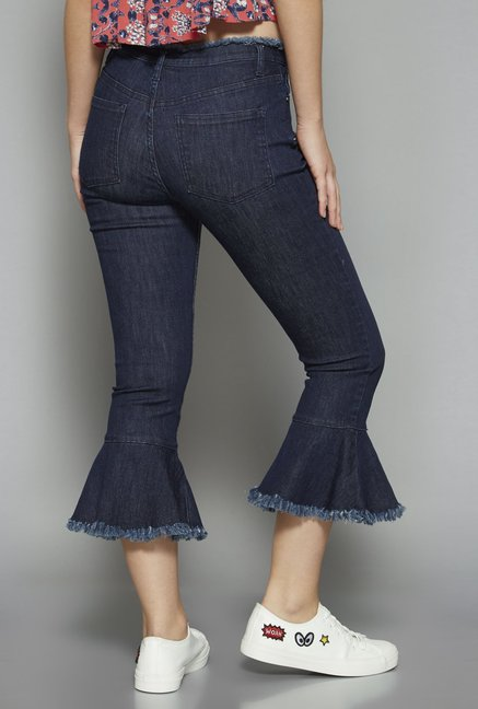 Nuon by Westside Indigo Cropped Jeans