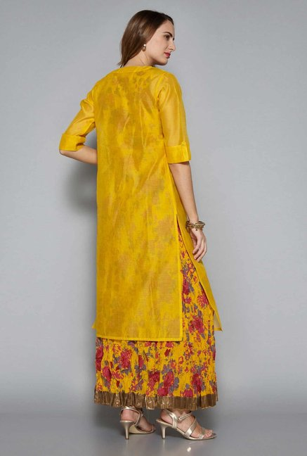 Vark by Westside Yellow Ethnic Set