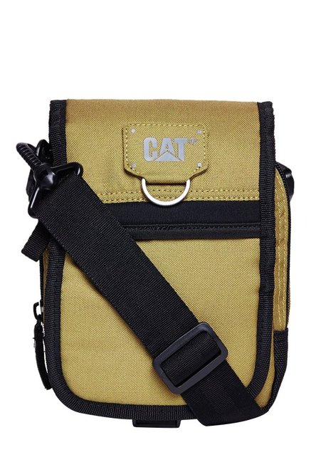 CAT Ronald Flaxen Yellow Solid Polyester Flap Sling