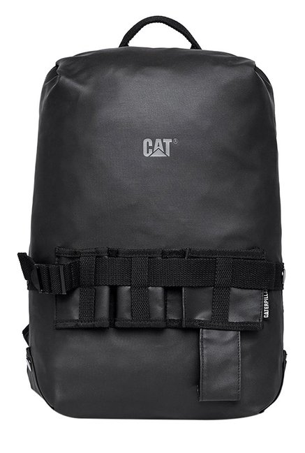 CAT Concept Y Black Polyester Laptop Backpack